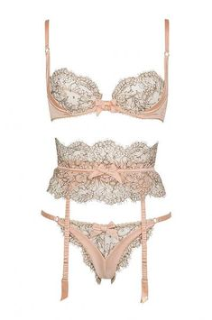 The Gypsy set by Agent Provocateur, S/S 2010  Why doessn't Agent Provocateur make sizes over an F?! And most of their stuff is only up to a D. Ugh. So frustrating.