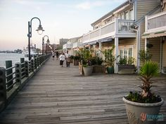 The charming Wilmington, North Carolina...I love the waterfront in downtown Wilmington!