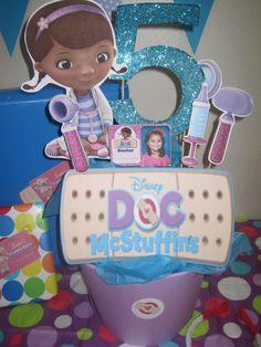 Doc McStuffins centerpiece