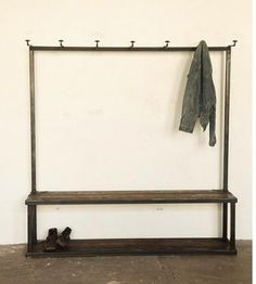 Coat rack & bench