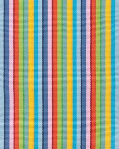 Cottage Stripe Cotton Rug Collection by Dash & Albert