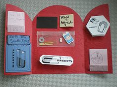 A lot of neat Science Foldables - Magnets, energy, forces, motion, light and color.