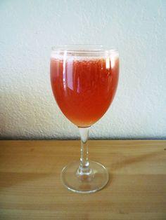 Bruschetta Juice:  2 large tomatoes, 1 garlic clove, basil to taste!