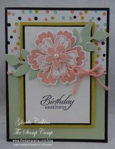layer card, secret garden, mix bunch, flower shops, stampin, diy idea, flowers, blog