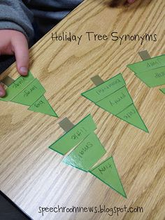 Holiday Tree Synonyms. Free Download.