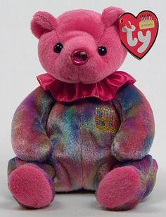 January (birthday) - bear - Ty Beanie Babies