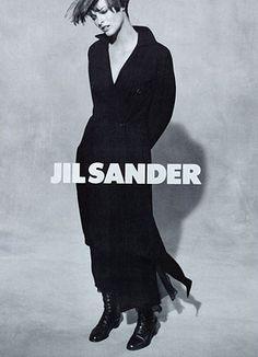 <3efl<3  Linda Evangelista/Jil Sander. '90s minimalism.  <3efl<3
