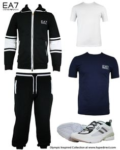 EA7 Emporio Armani | Italian Olympic Team Inspired Collection at Hype Direct.