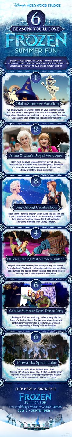 6 Reasons You'll Love #FrozenSummer at Disney's Hollywood Studios! #LetItGo #Frozen #WaltDisneyWorld #tips #vacation