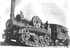 Hornsby Steam Crawler   1910