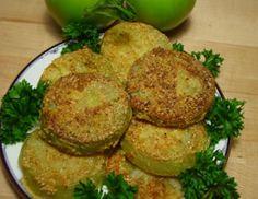 Fried green tomatoes!!! YUM!