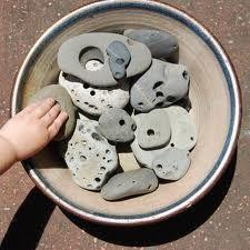 . hagg stone, lake michigan, holey stone, rock, beauti stone, hag stone