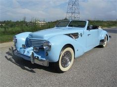 1936 Cord Convertible.