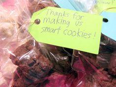 Smart cookies tag- teacher gift
