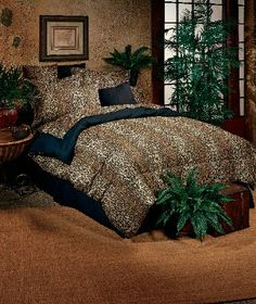 Leopard Bedding