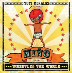 Niño Wrestles the World by Yuyi Morales/Caldecott Committee: a guest post by KT Horning. To reserve: http://search.westervillelibrary.org/iii/encore/record/C__Rb1621662__Syuyi%20wrestles__Orightresult__U__X2?lang=eng&suite=gold