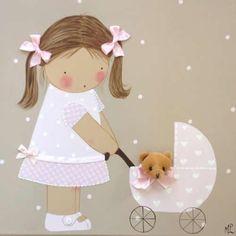 Cuadros de Bebés artesanales y personalizados de BB The Country Baby craft, bebe, cuadro, country