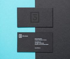 3Five Media Branding Business Card #branding #visualidentity #logodesign #corporateidentity #stationery
