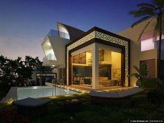 dream, architectur, view villa, villas, sea view