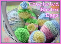 Easter eggs free pattern - cute to fill with catnip for kitty toys!