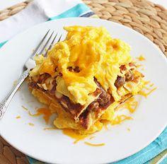 Breakfast lasagna #hcg phase 3