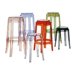 Kartell Charles Ghost Stools