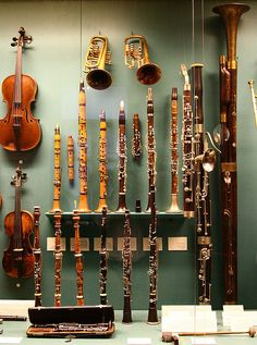Hofburg - Museum of ancient musical instruments by Hornplayer, via Flickr