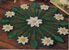 free crochet Daisy Web Doily Pattern, thanks so xox