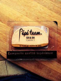La Pépé team,un jeune team créatif de Sup de Pub en recherche d'un stage, ça envoie du paté