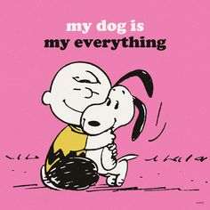 My dog is my everything.