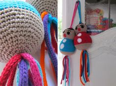 Crochet XL LUCKY DOLLS. By Handwerkjuffie.