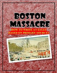 Boston Massacre Stamp Act