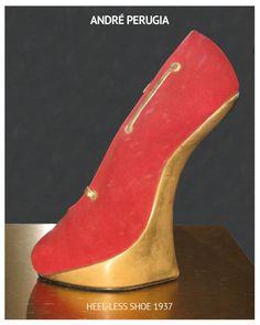 André Perugia Heel-less shoe 1937