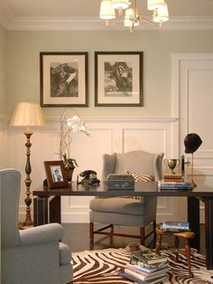 LOVE LOVE LOVE this!   Home Office Masculine Design, Pictures, Remodel, Decor and Ideas - page 15