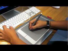 Wacom Bamboo Fun Pen & Touch Tutorial (2012)