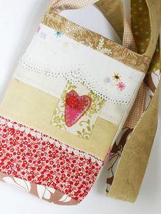Hodge Podge Hip Bag (no. 04) by Rebecca Sower
