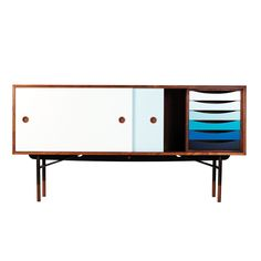 Sideboard and Tray Unit   House of Finn Juhl
