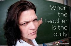 What do you do when the school bully is your child's teacher? #bullying
