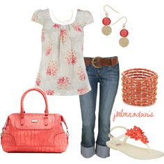 Coral & Casual