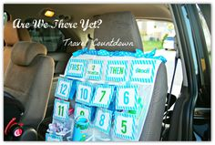 car games, trip countdown, countdown game, summer road trips, family vacations