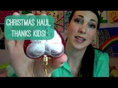 ▶ Major Christmas Haul, Thanks Kids! - #YouTube #Vlogging