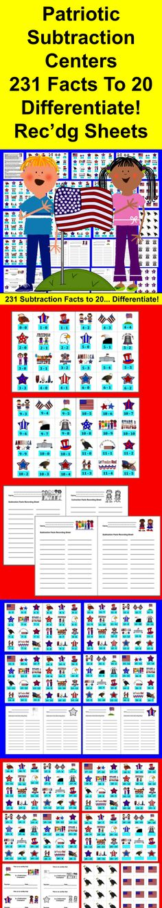 fourth of july math activities