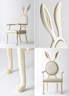 Adorable rabbit chair