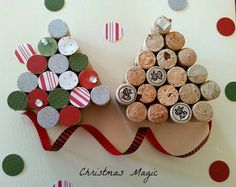 #DIY #Christmas craft tutorial. These are so cute!