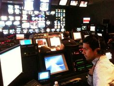 Our own @montalvo_d producing the heck out of his segment in the @CNBCSquawkSt Control Room. #toocool