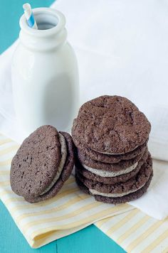 Homemade Oreos with Cookies & Cream Filling by House of Spain, via Flickr