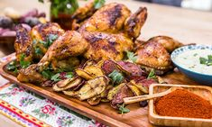 @Home and Family - #Recipes - @CristinaCooks: #Portugese-style Peri Peri #Chicken with Crispy #Potatoes | #HallmarkChannel