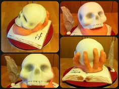 "My entry for ""Shakespeare's birthday cake"" #Cakespeare. From Raluca Vasile ‏@RalucaMVasile shakespeare cake, cake oclock, cake time, shakespear birthday, 3d cake, birthday cakes"