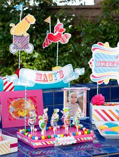 Birthday Parade first birthday theme by HWTM