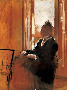 Degas - Woman at a Window